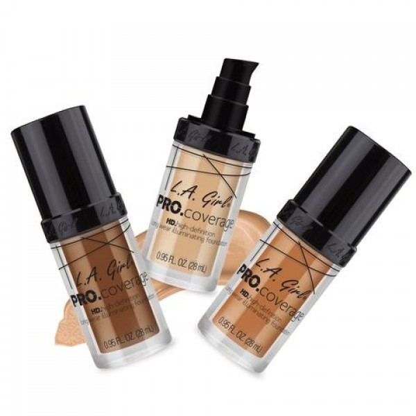 HD PRO Coverage Illuminating Foundation
