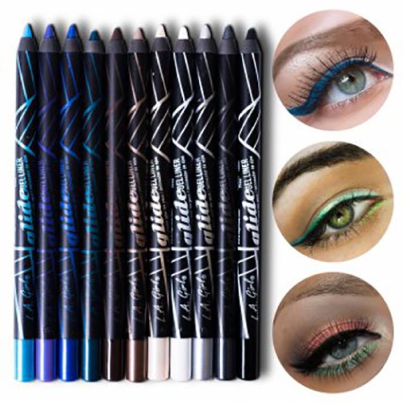 Eyeliner Gel Black Cosmic Shimmer Gel732 by L.A. Colors #20